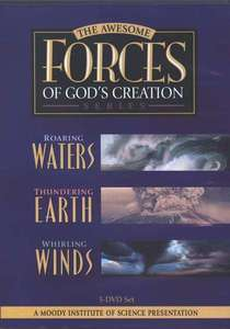 The Awesome Forces Of God's Creation 3 Volume Dvd Set