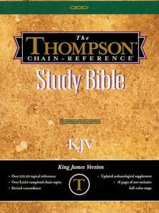Thompson Chain Reference Bible Handy Size KJV