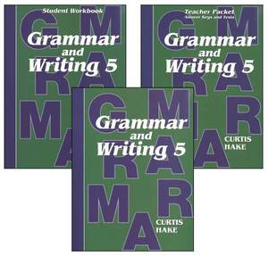 Saxon Grammar and Writing (Hake's Grammar) Grade 5 Kit