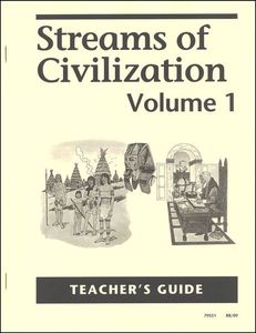 Streams Of Civilization Volume One - Teachers Manual