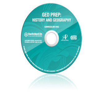 SOS Switched On Schoolhouse GED Preparatory History & Geography