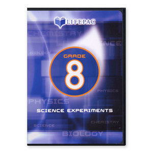AOP Lifepac Science Experiments Grade 8 Dvd Alpha Omega