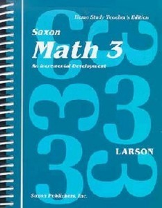 Saxon Math 3 Home Study Solutions Manual