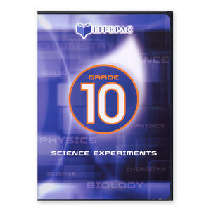 AOP Lifepac Science Experiments Grade 10 Dvd Alpha Omega