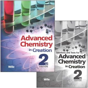 Apologia Advanced Chemistry in Creation Complete Set 2nd Edition