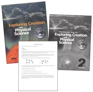 Apologia Exploring Creation with Physical Science Set
