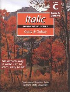 Getty-Dubay Italic Handwriting Book C Grade 2