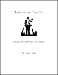 Apologia Advanced Chemistry in Creation Solutions and