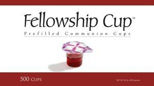 Fellowship Cup Prefilled Communion Cups Set, Box of 500