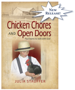 Chicken Chores and Open Doors - Julia Stauffer - TGS International