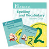 Alpha Omega Horizons Spelling & Vocabulary 2nd Grade Homeschool Set