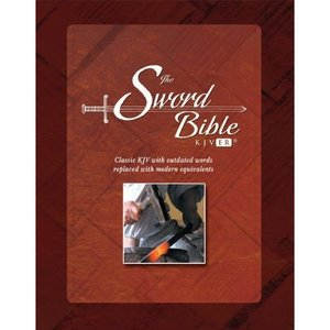 KJVER Sword Bible Personal Size Hardcover