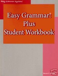 EASY GRAMMAR PLUS STUDENT HOMESCHOOL WORKBOOK NEWEST!