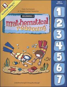 Critical Thinking Mathematical Reasoning Beginning Book 2