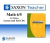 Saxon Math 65 Homeschool Teacher Lesson & Test CDs 6/5